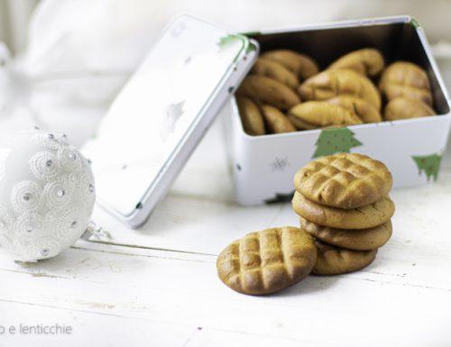 Biscotti alla crema di arachidi senza zucchero