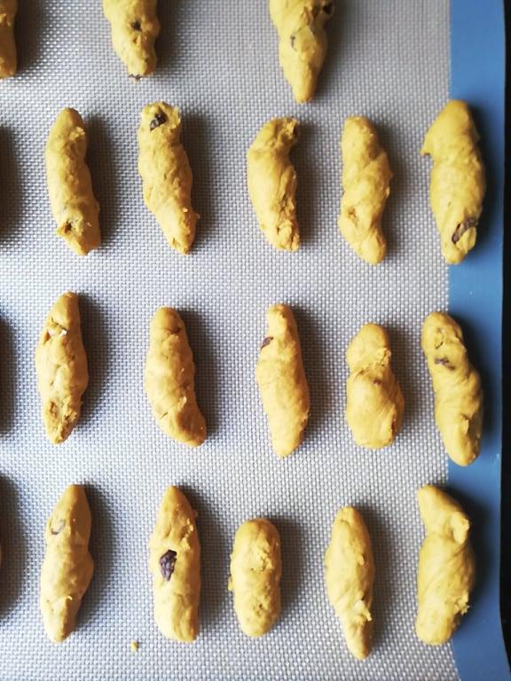 frolla biscotti castagne e zucca