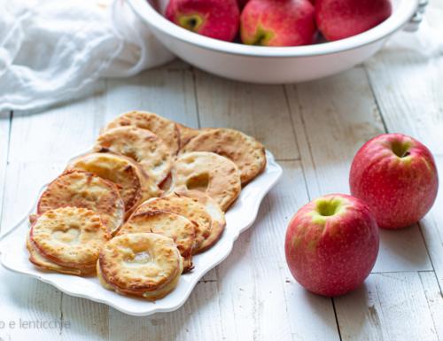 Frittelle di mele friggitrice ad aria