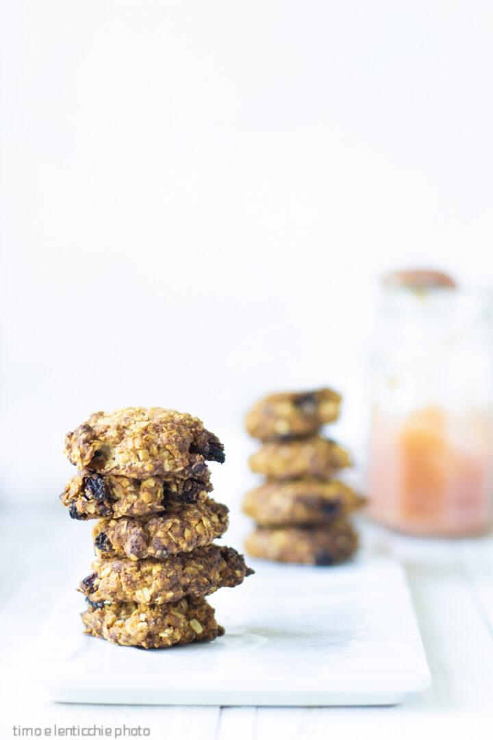 Cookies al burro di mele senza zucchero