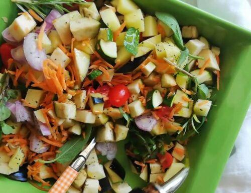 Ortaggi estivi al forno verdure cottura veloce