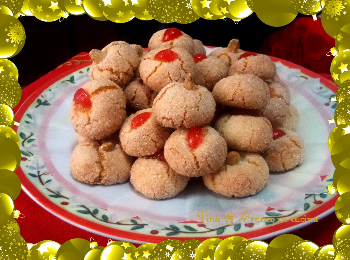 Amaretti sardi dolci della tradizione tina francy in for Ricette dolci sardi