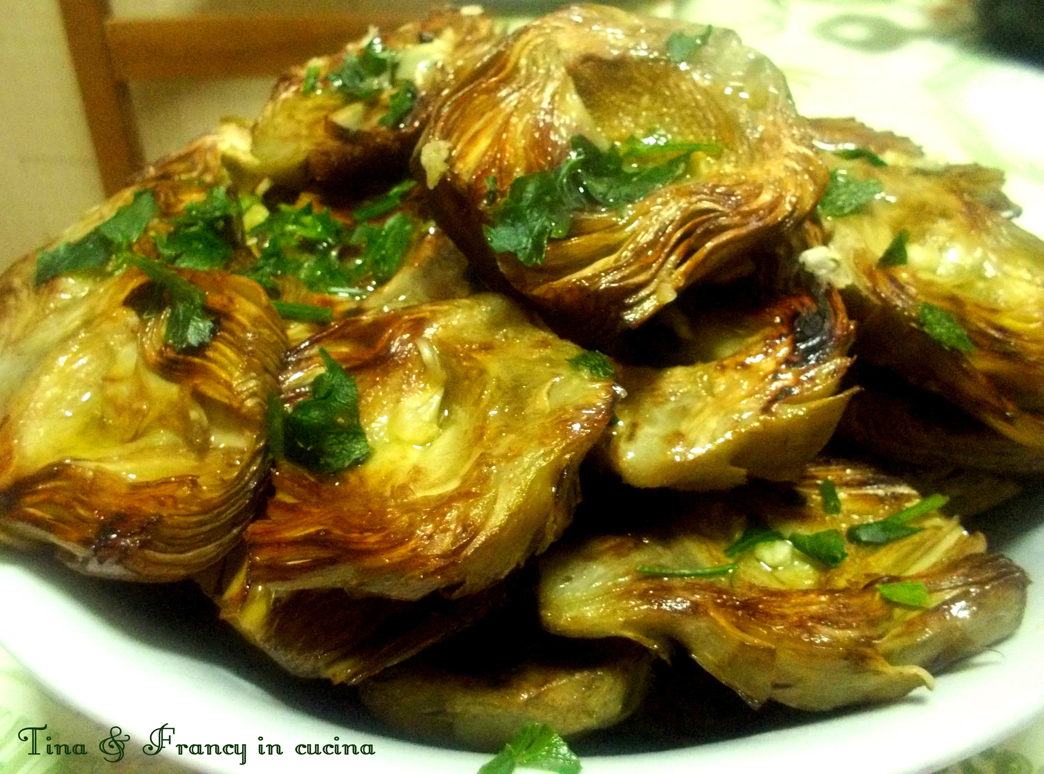 Ricerca ricette con carciofi arrosto for Cucinare i carciofi