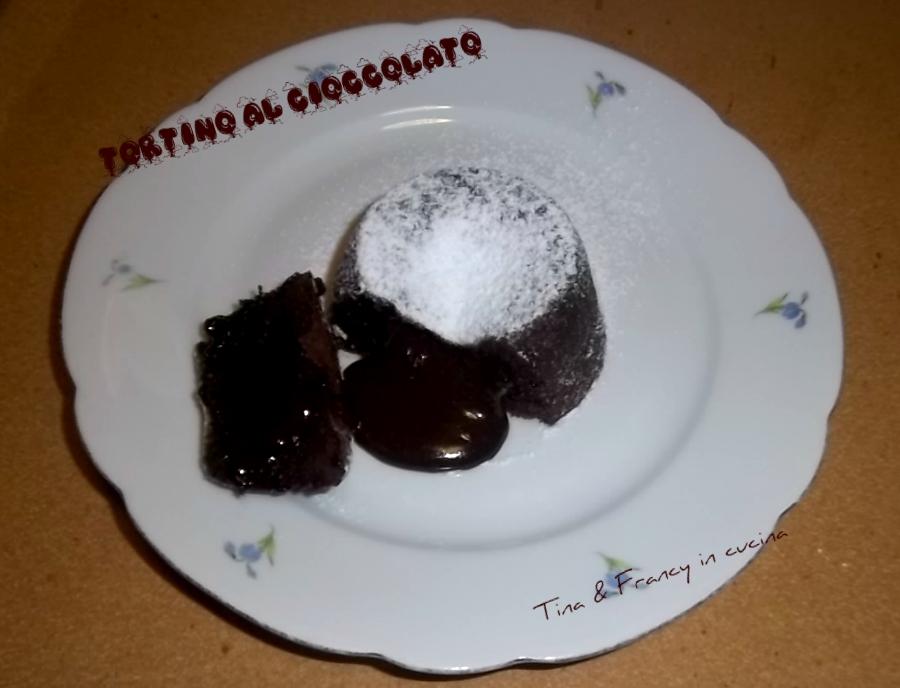tortino al cioccolato dal cuore morbido