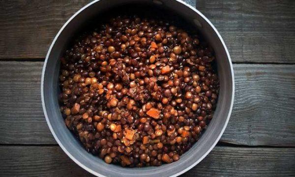 Cuocere le lenticchie