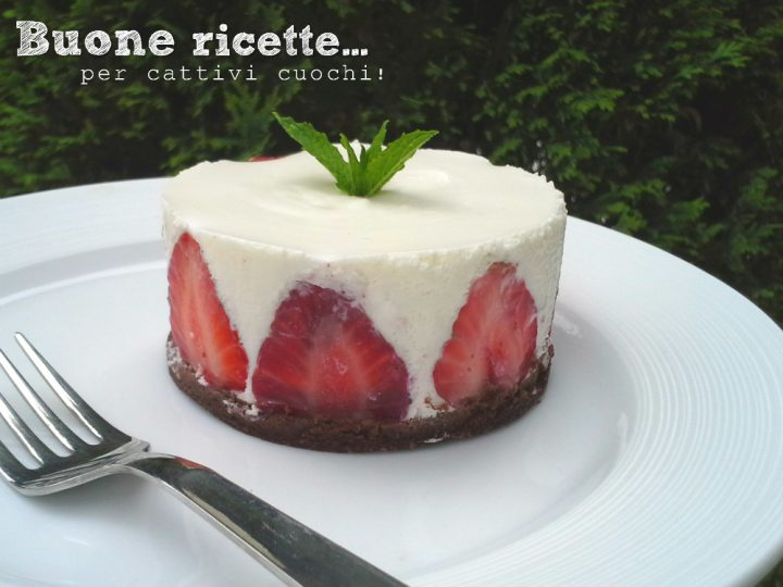 La cheesecake alle fragole