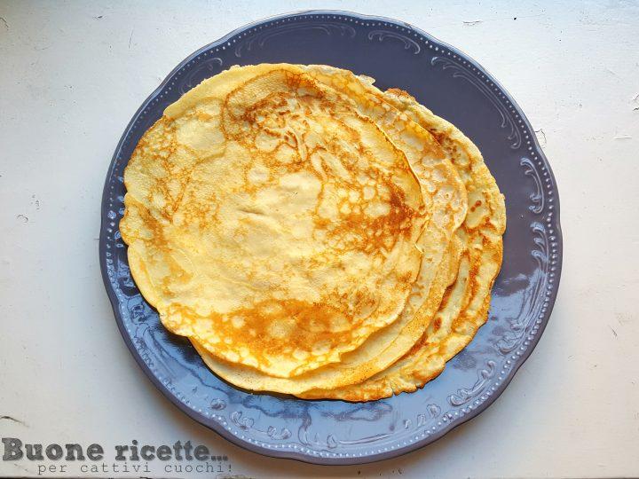 Ricetta per crepes con due uova