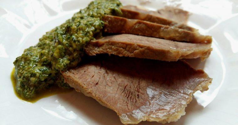 Il bollito in salsa verde