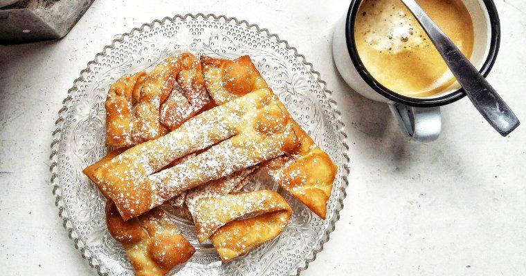 Cenci toscani, ricetta classica
