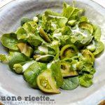 Insalata verde con citronette