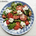 Insalata pomodori e stracciatella