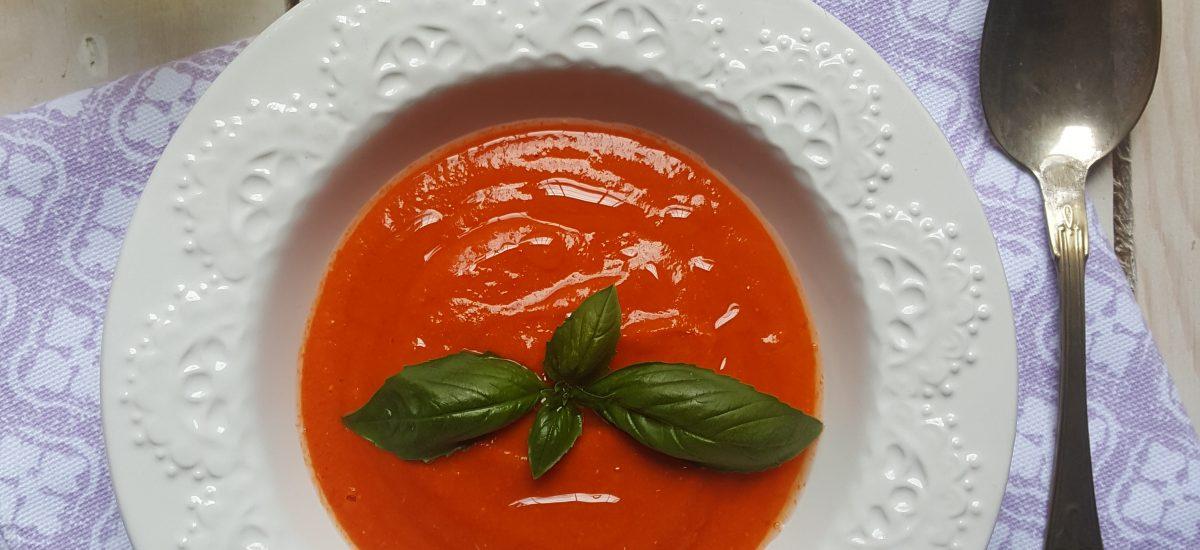 Gazpacho di anguria e pomodori
