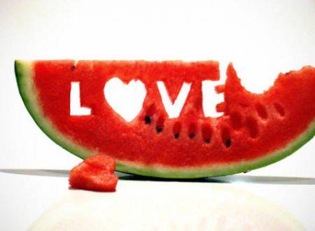 Anguria &  frutta mista in guscio di Anguria * Watermelon & mixed fruit in watermelon shell