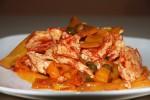 Pollo ai peperoni ricetta veloce