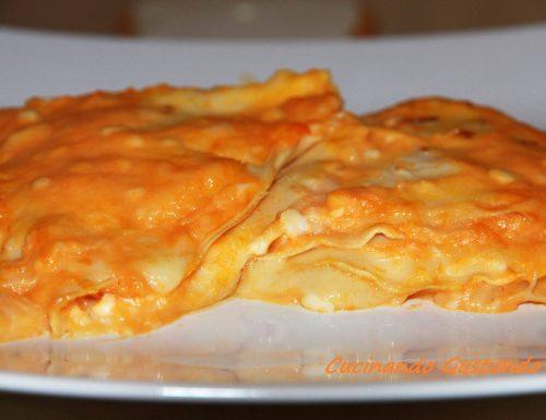 Crepes alla zucca e formaggio