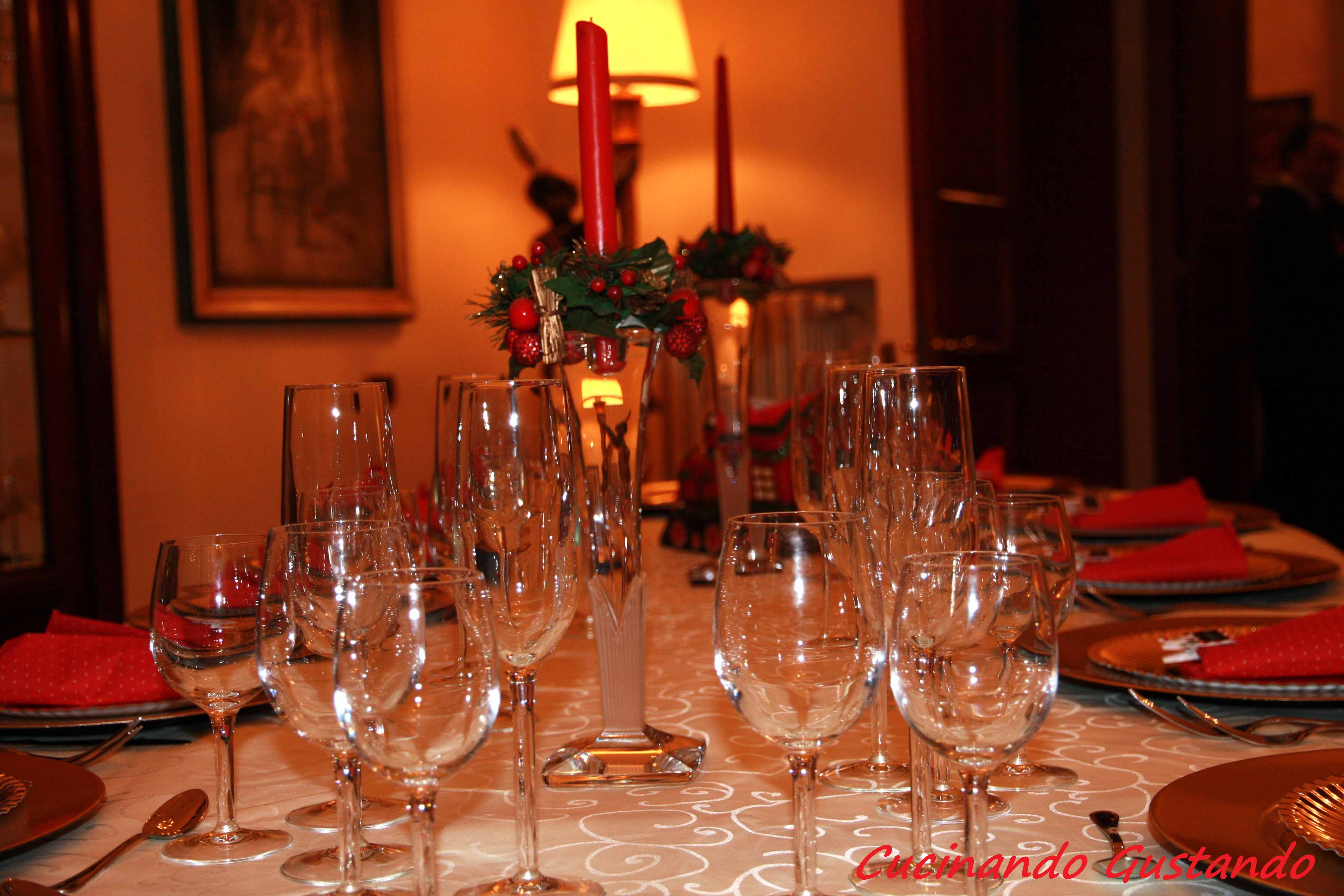 Al Natale 2015 E Dopo Aver Deciso Il Menù Cerchiamo Di Capire Come  #C88A03 3888 2592 Come Disporre Il Tavolo Da Pranzo