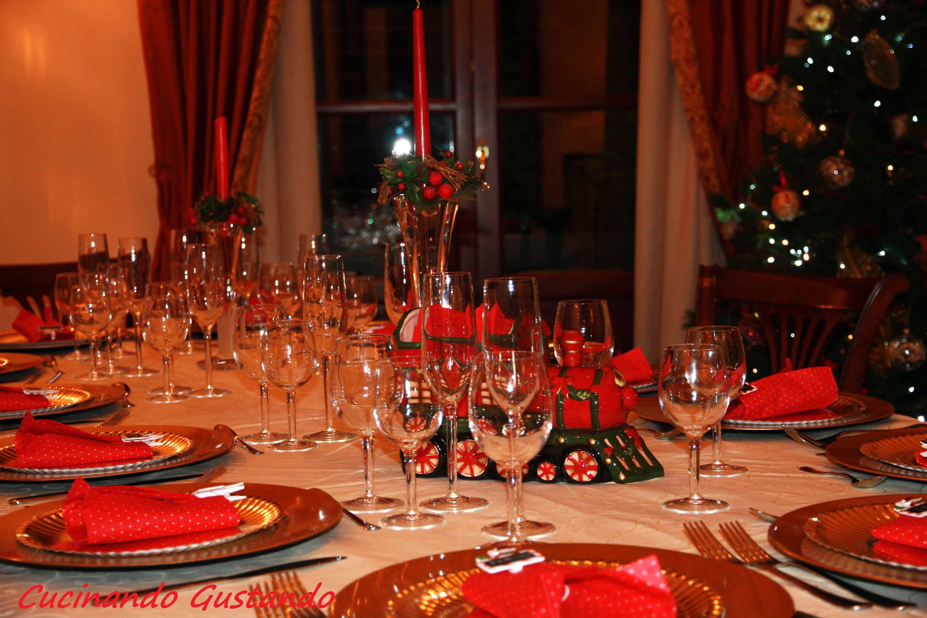 come addobbare la casa per natale tavola natalizia : natale2