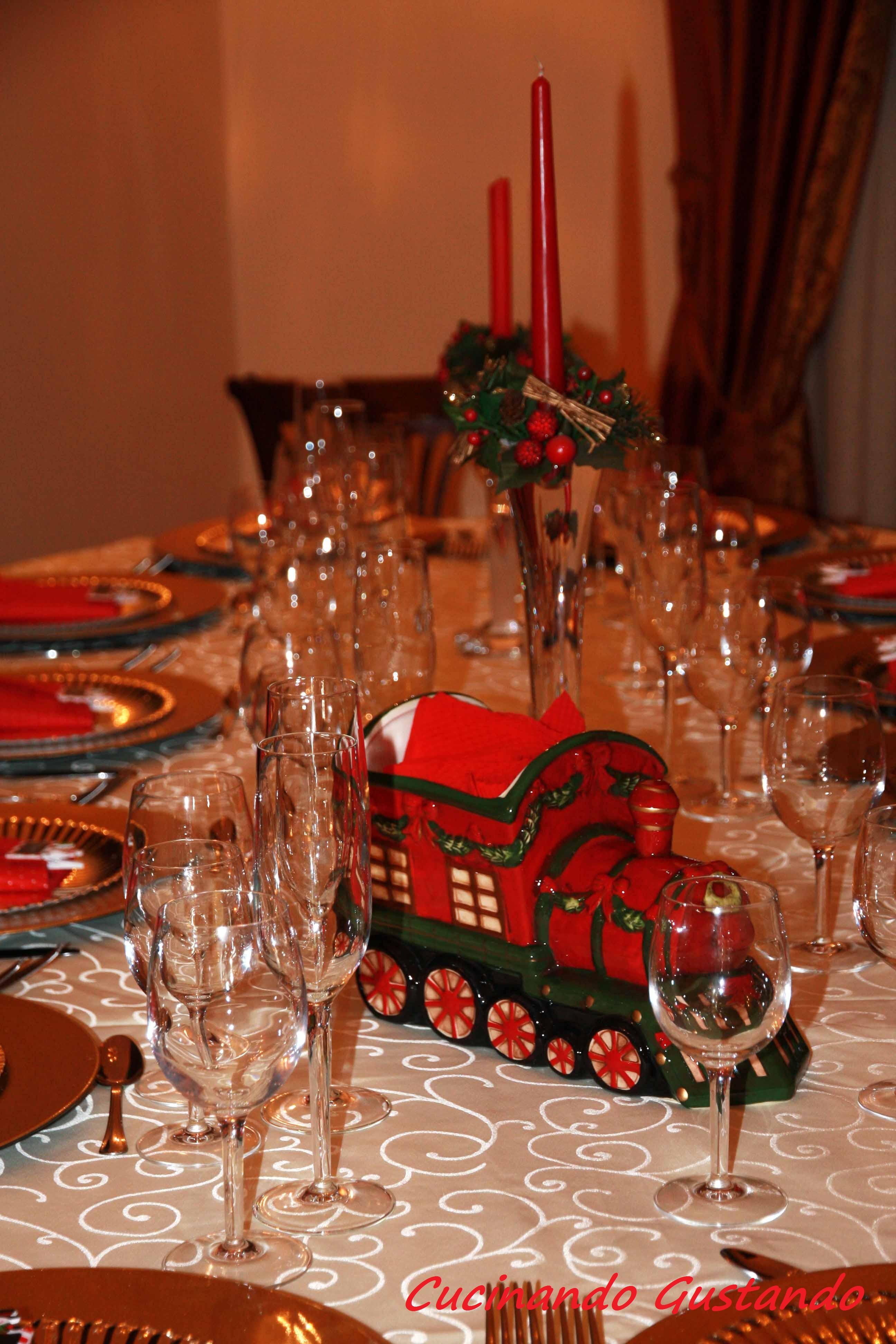 Come apparecchiare la tavola per natale - Apparecchiare la tavola di natale 2014 ...