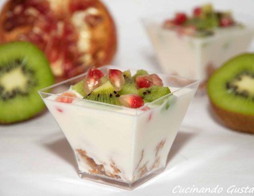 Yogurt kiwi cereali