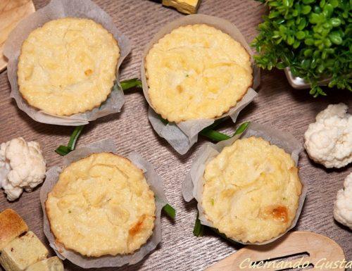 Sformatini cavolfiori e formaggio