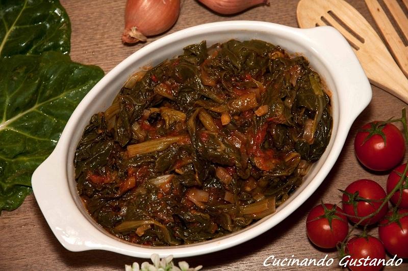 Bietole al pomodoro ricetta saporita