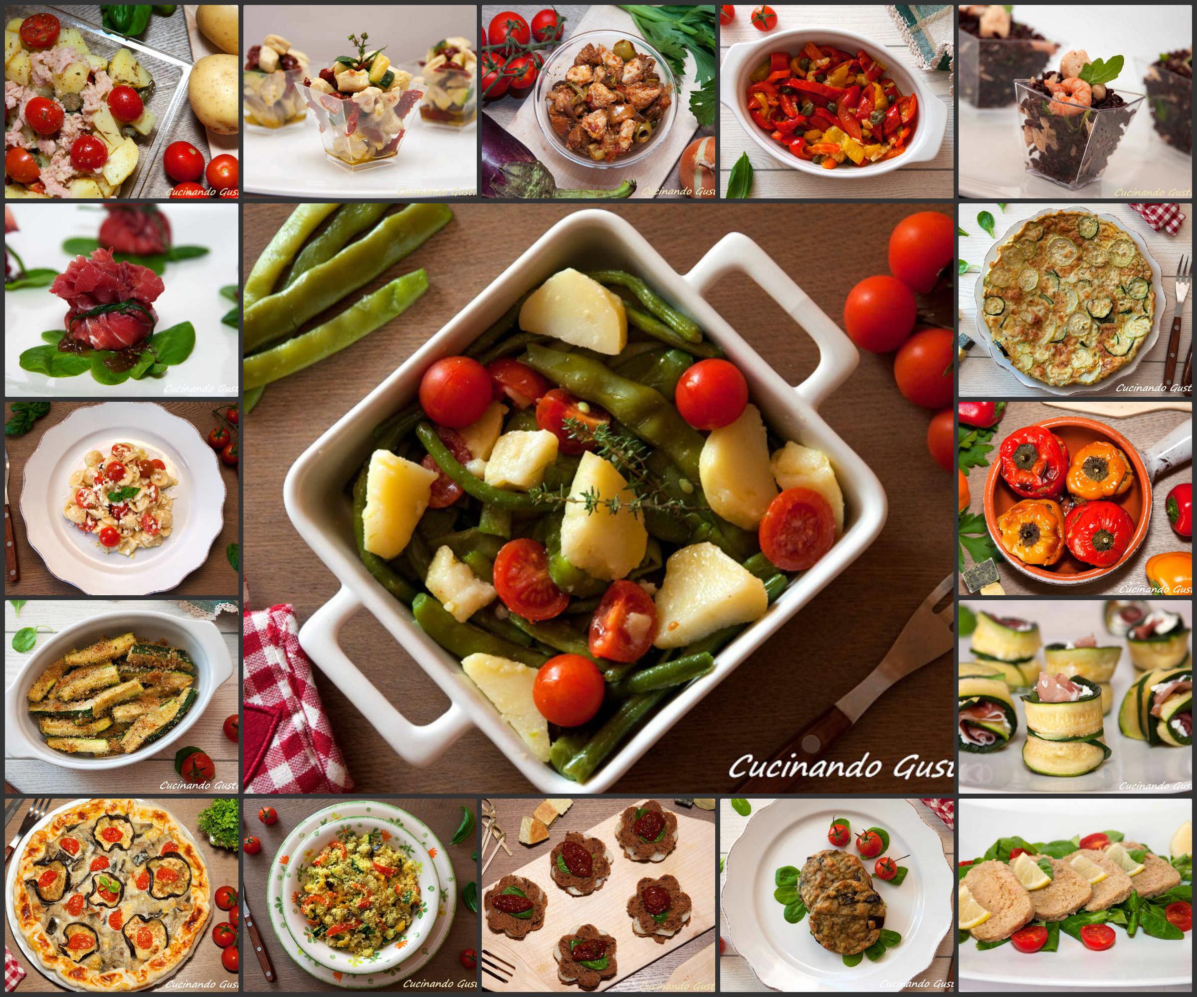 Ricette piatti freddi vegetariani