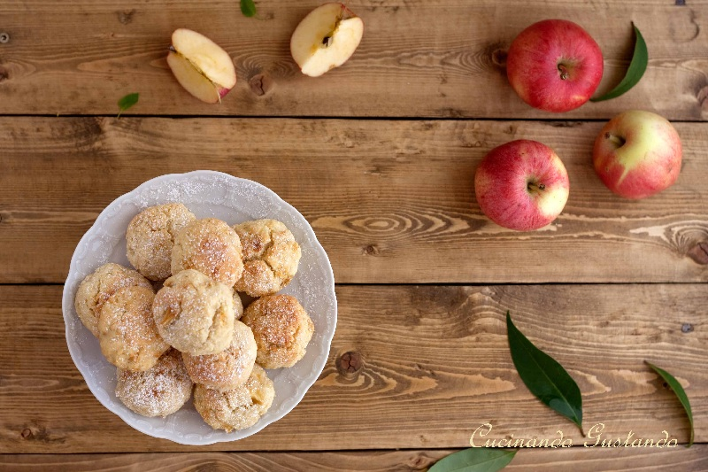 Biscotti alle mele ricetta facile leggera e gustosa