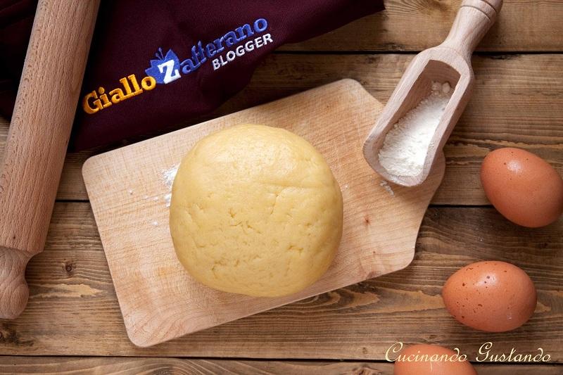 Pasta frolla con farina di riso senza glutine