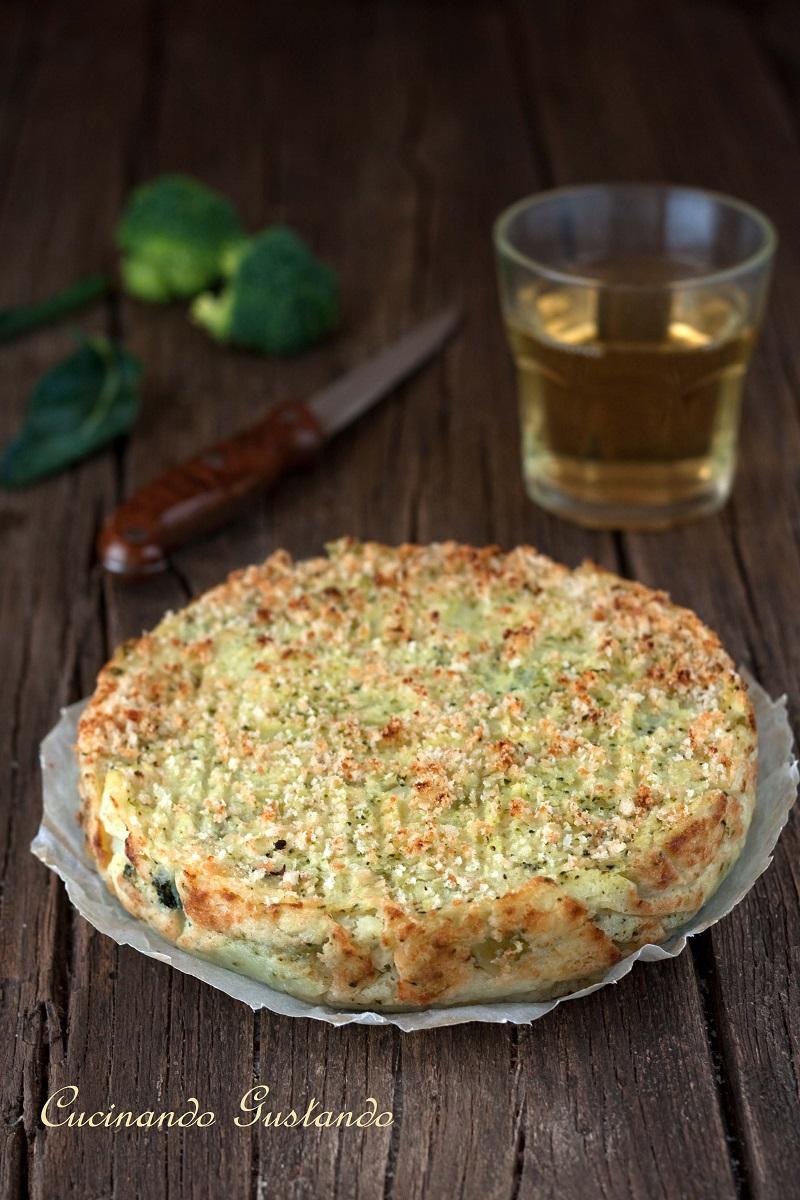 Gateau Di Patate Broccoletti E Formaggio Ricetta Gustosa