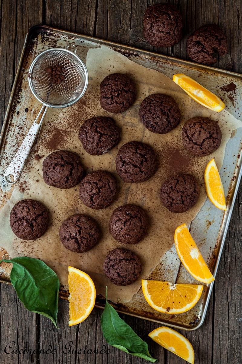 Biscotti cioccolato arancia