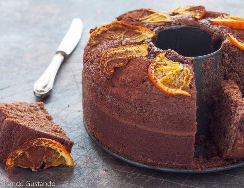 Ciambella cioccolato e arancia