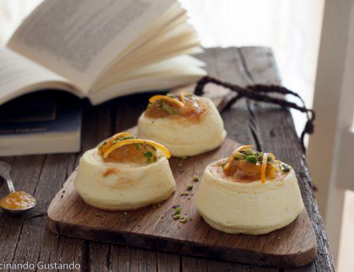 Sformatini di ricotta con marmellata di agrumi e zenzero – Antipasto salato