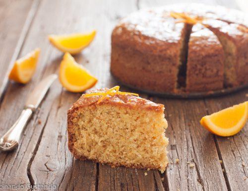 Pan d'arancio integrale e senza burro