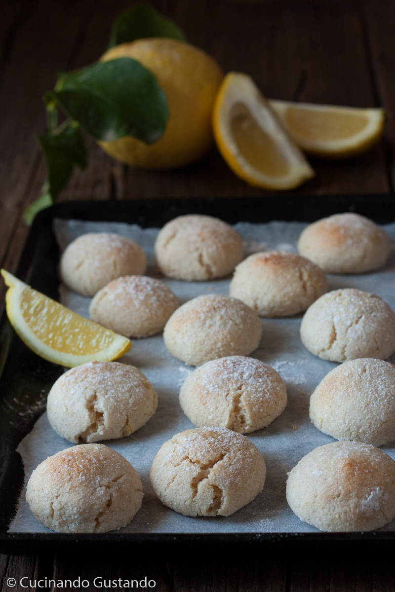 Dolcetti di mandorle e limone ricetta