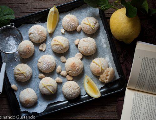Dolcetti di mandorle e limone
