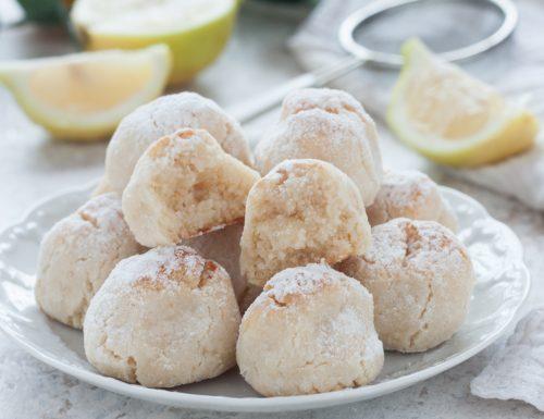 Biscotti di mandorle e limone senza farina e uova