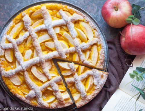 Crostata morbida marmellata e mele