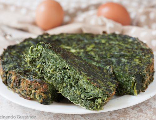 Frittata ricotta spinaci cotta al forno