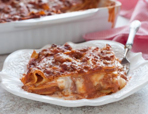 Lasagne alla bolognese ricetta classica