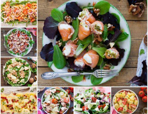 10 Insalate fresche ed estive