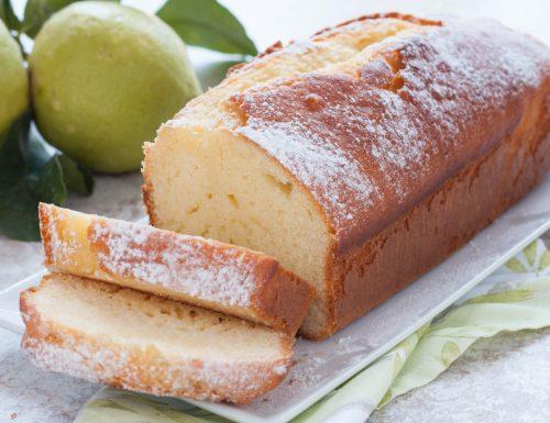 Plumcake al limone sofficissimo