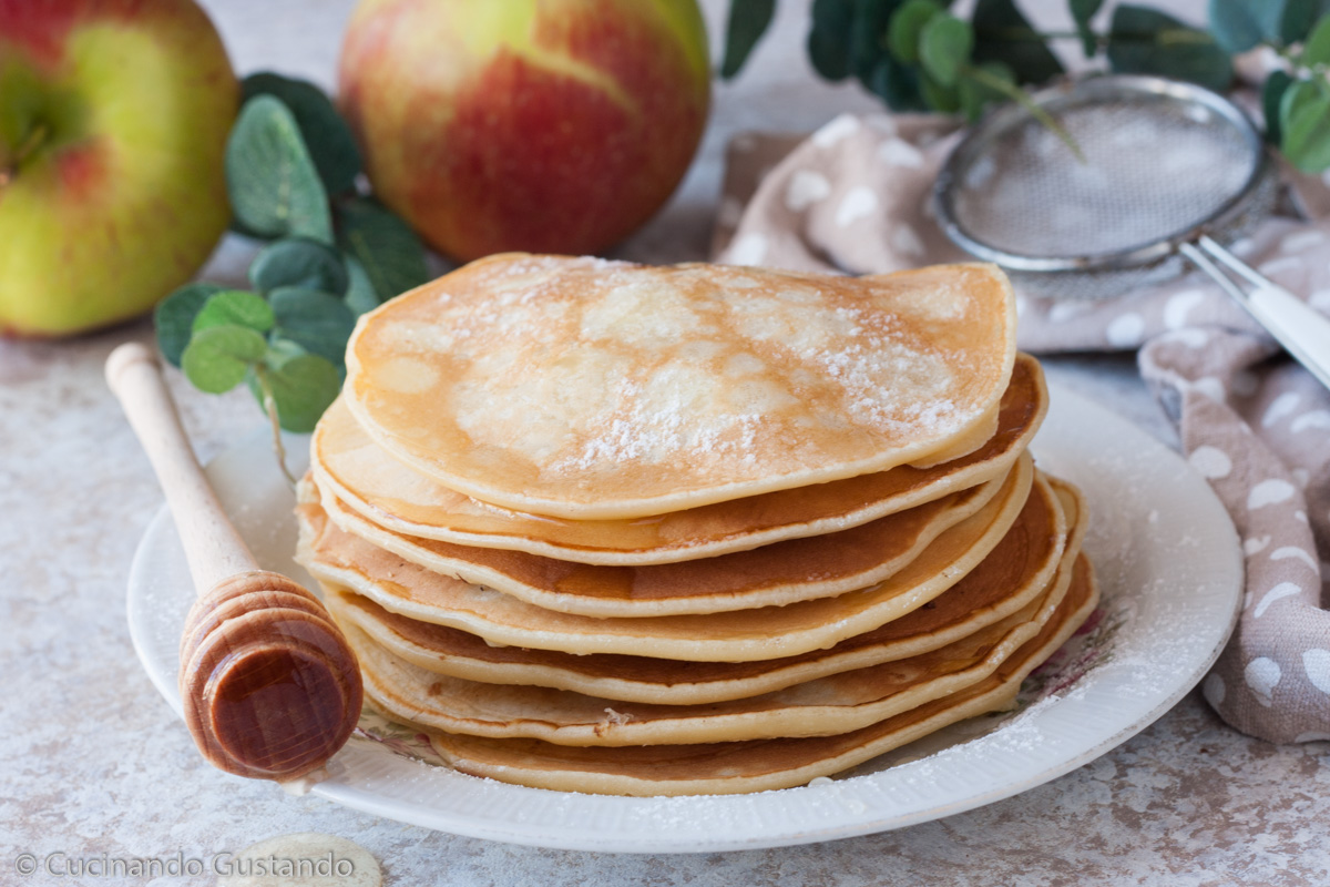 Pancake alle mele