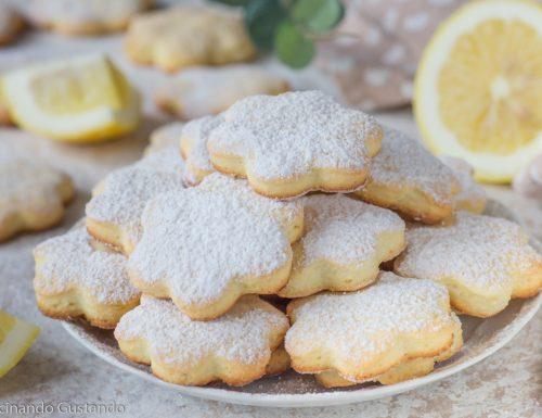 Biscotti di ricotta e limone