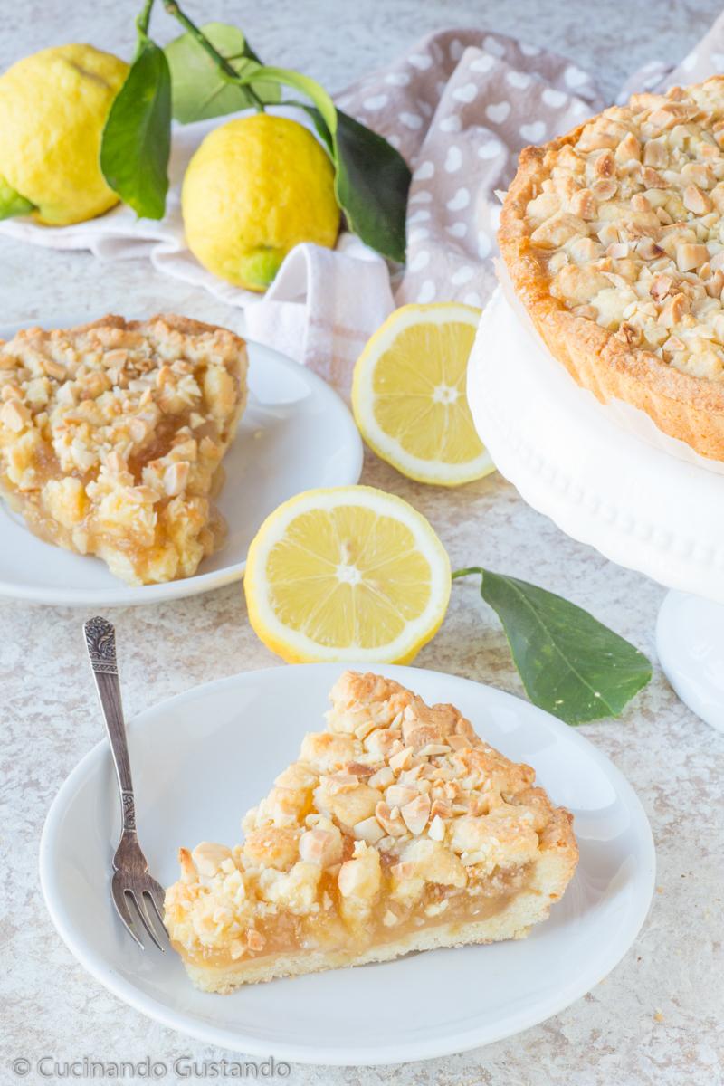 Sbriciolata con marmellata di limone