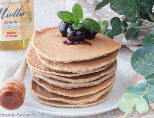 Pancake integrali al miele