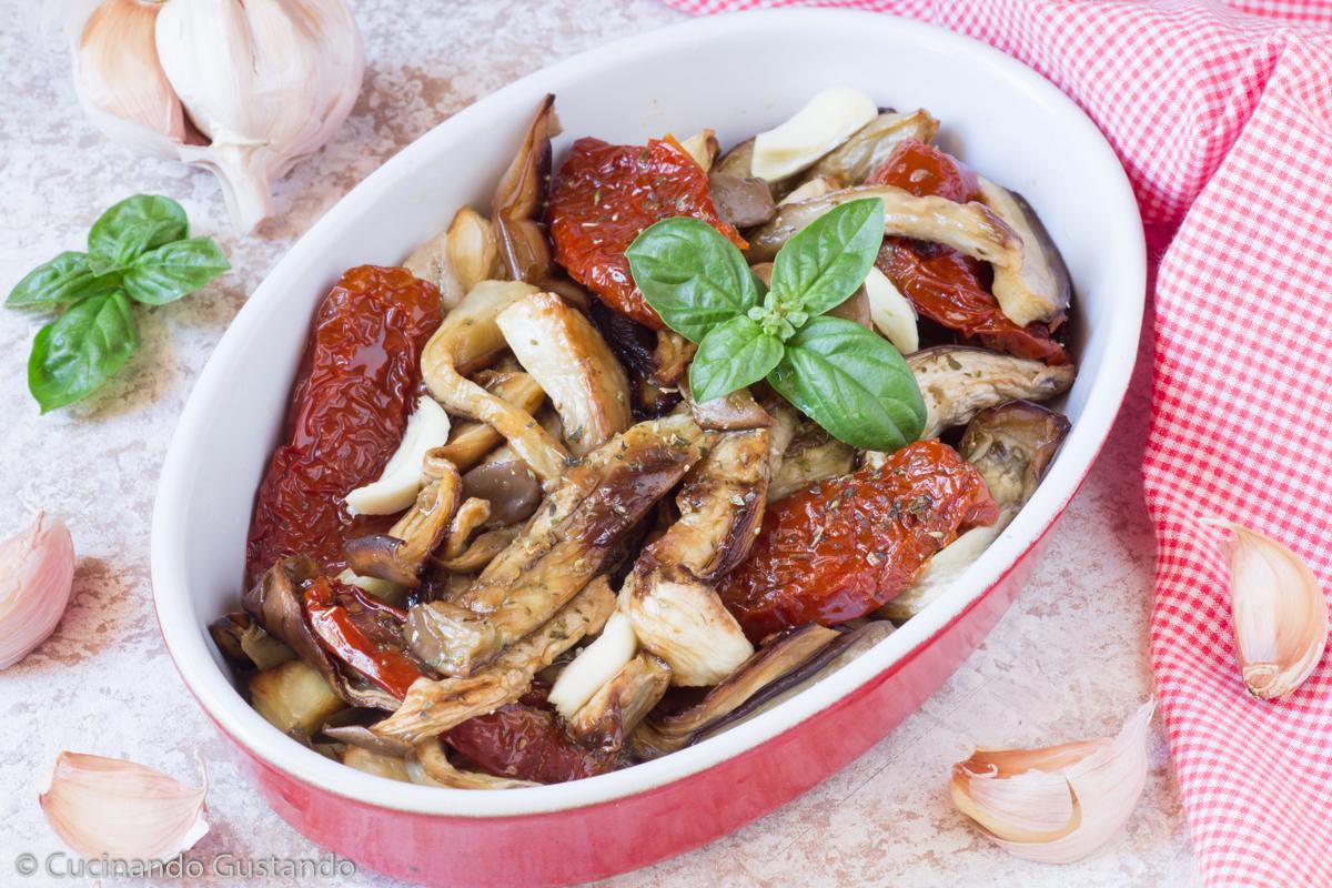 Insalata di Melanzane e pomodori secchi