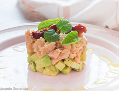 Salmone ed avocado