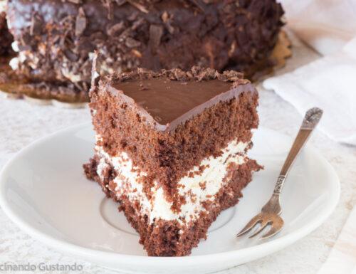 Torta cioccolato panna e mascarpone