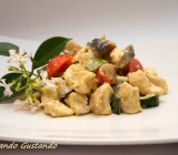 Insalata di pollo verdure e yogurt