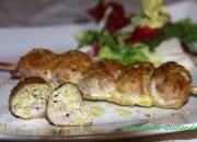 Involtini di arista con pistacchio e formaggio